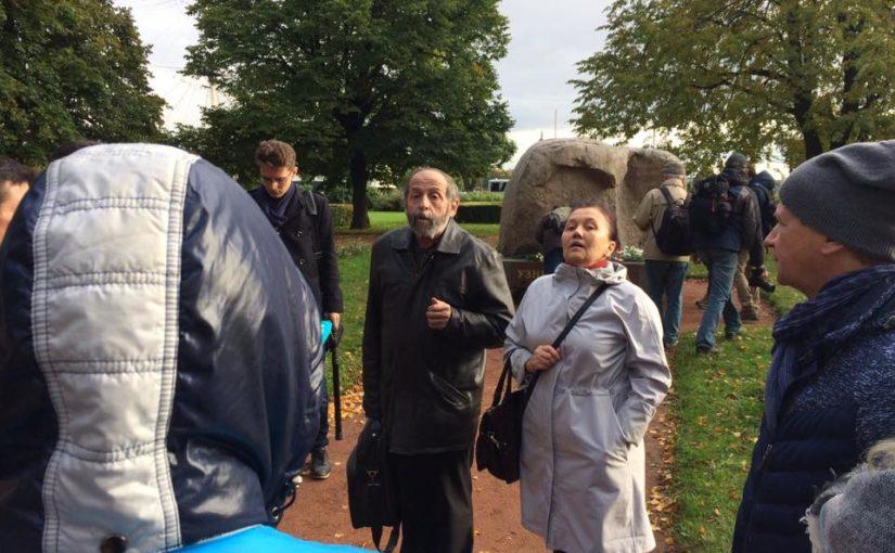 На акции памяти Политковской